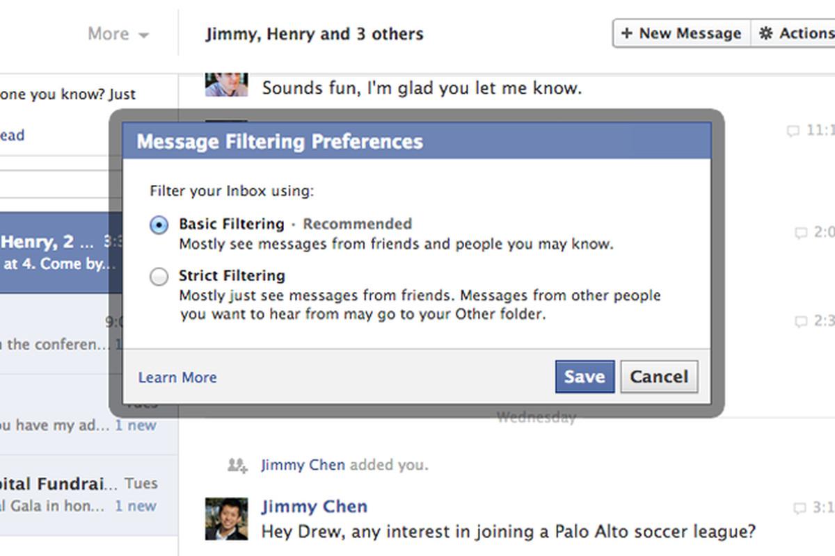 facebook messenger privacy