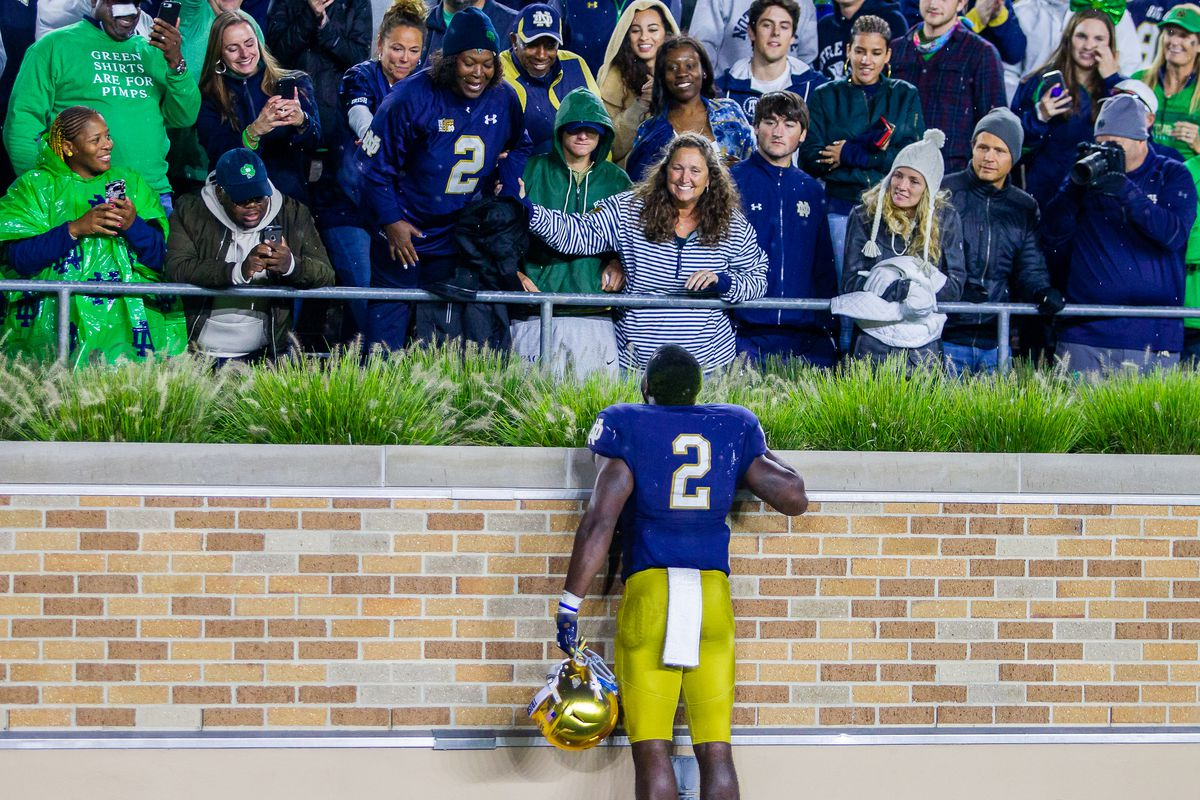 online retailer b8e63 7df35 When Notre Dame's Dexter Williams made you cry like a baby ...
