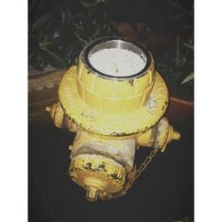 A fire hydrant ashtray at Park on Fremont.