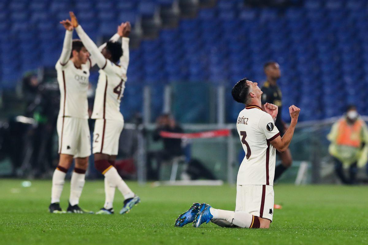 AS Roma v Ajax - UEFA Europa League Quarter Final: Leg Two