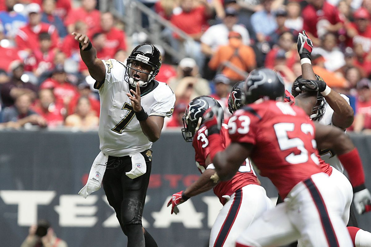 Jacksonville Jaguars Daily Byron Leftwich Becomes Arizona