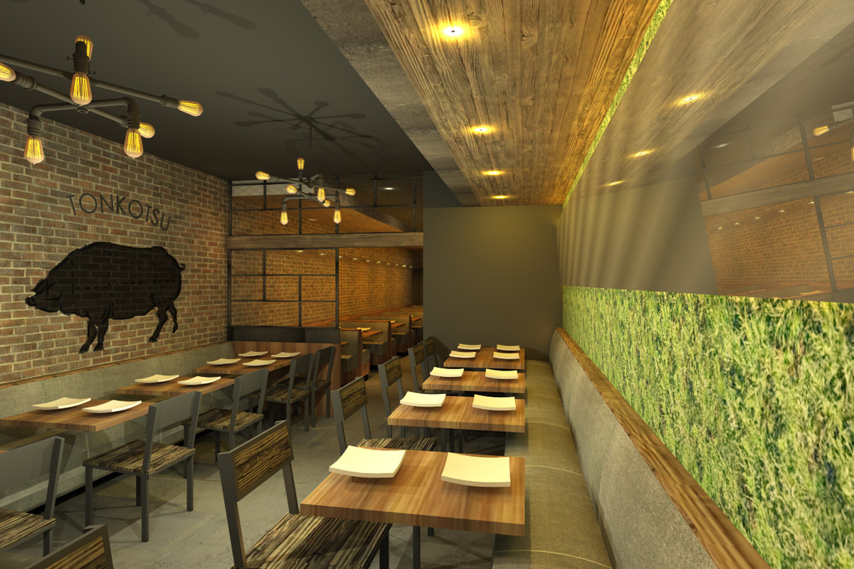 Second Floor Dining Room At Jinya Official