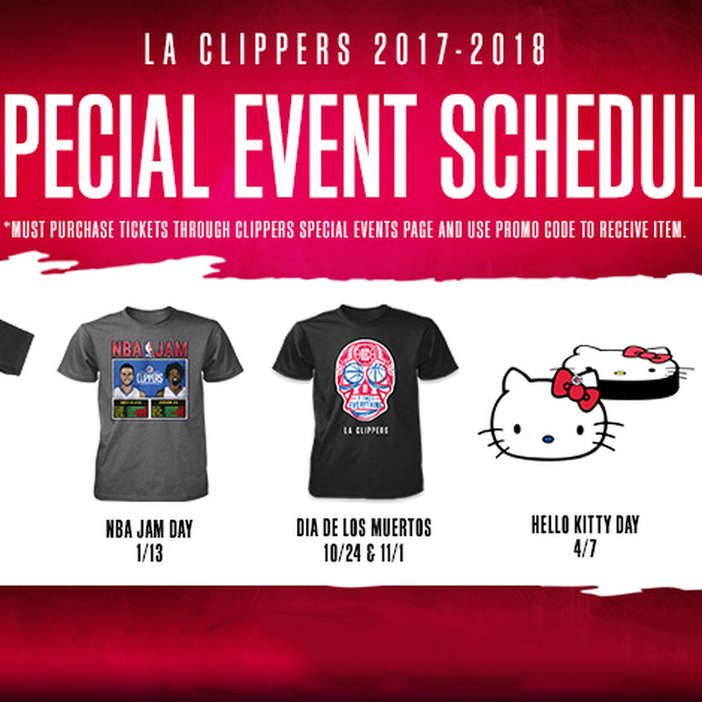 2017-18 Clippers Promotions: What You Need to Know - Clips