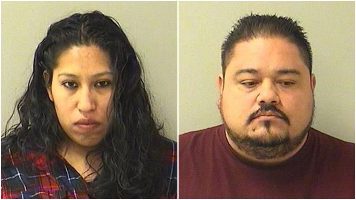 (L-R) Polet Bucio-Perez and Jerardo Espinoza-Zepeda   Kane County state's attorney's office