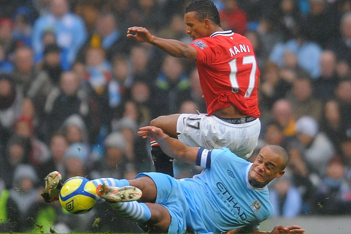 Manchester City's Belgian midfielder Vin