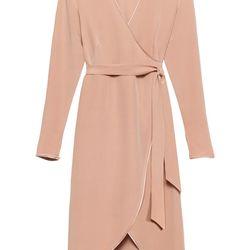 Silk dress, $275