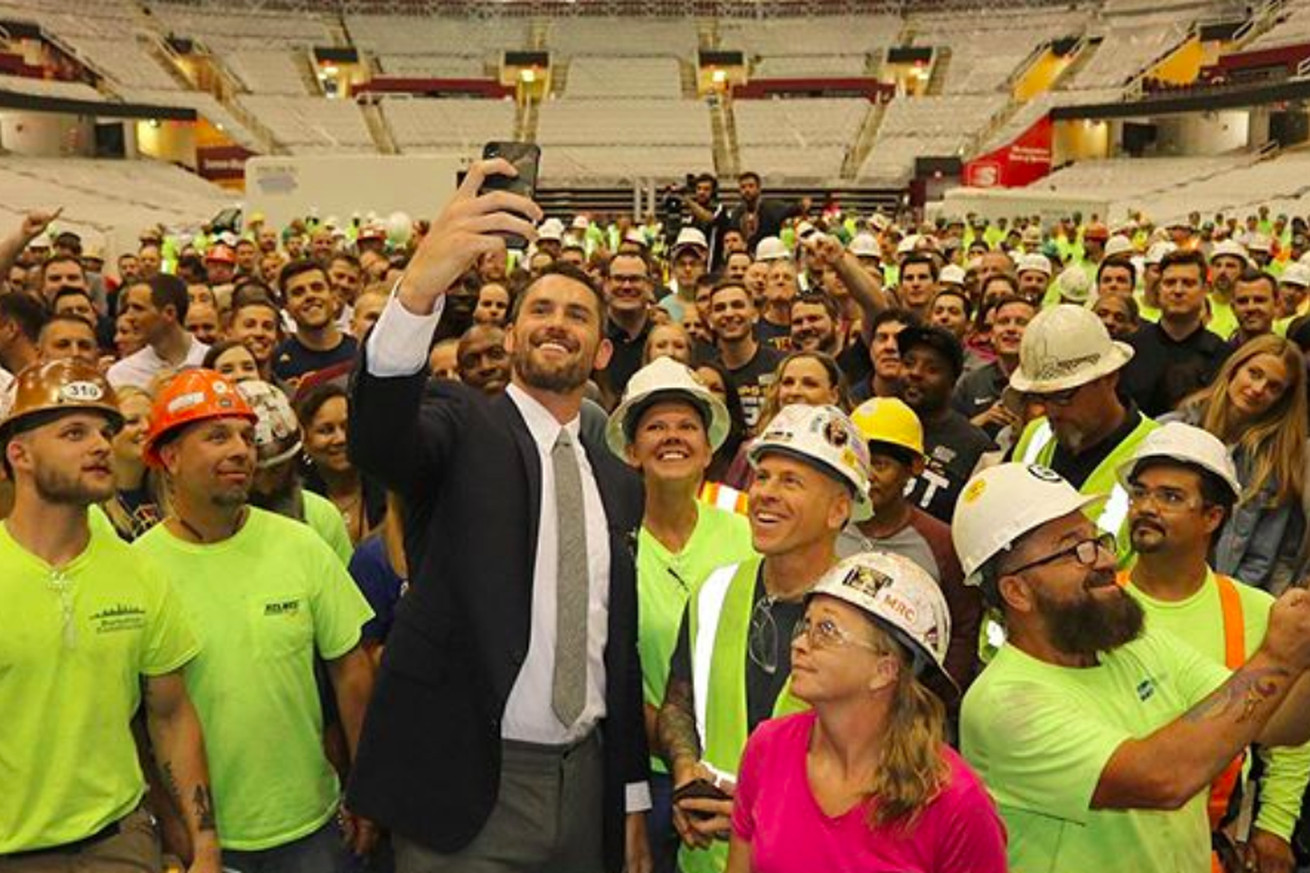 Screen Shot 2020 03 12 at 5.30.33 PM.0 - Kevin Love donates $100K to arena workers and staff impacted by suspended NBA season