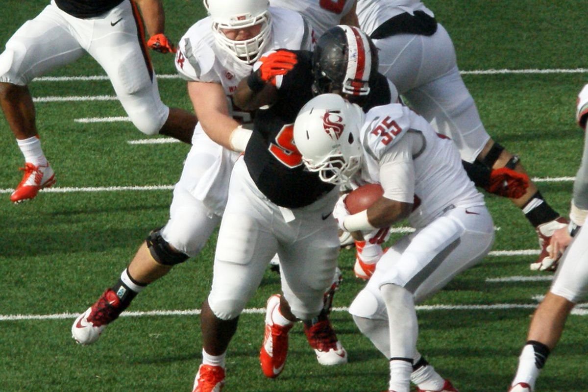 This didn't happen enough against Washington St. Oregon St.'s d-line must disrupt Arizona St. in the backfield for the Beavers to hope to upset the #6 team in the country.