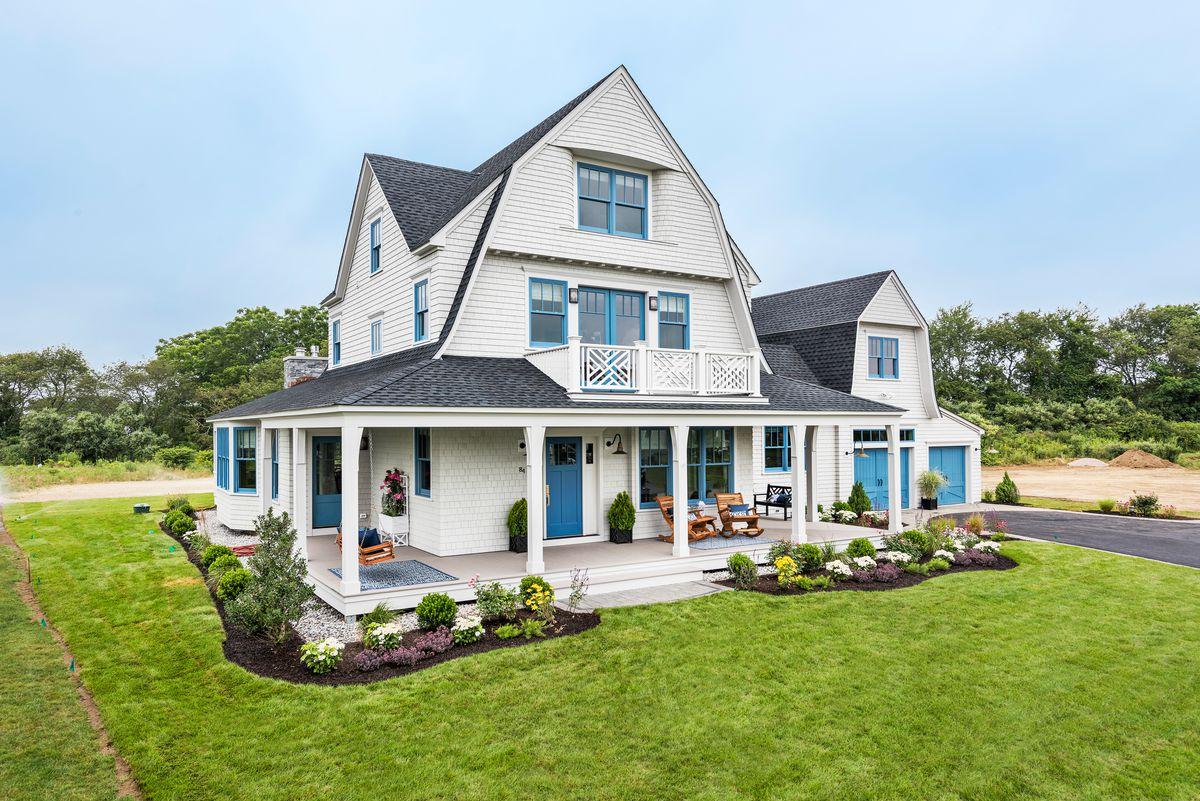 Rhode Island Idea House, Exterior