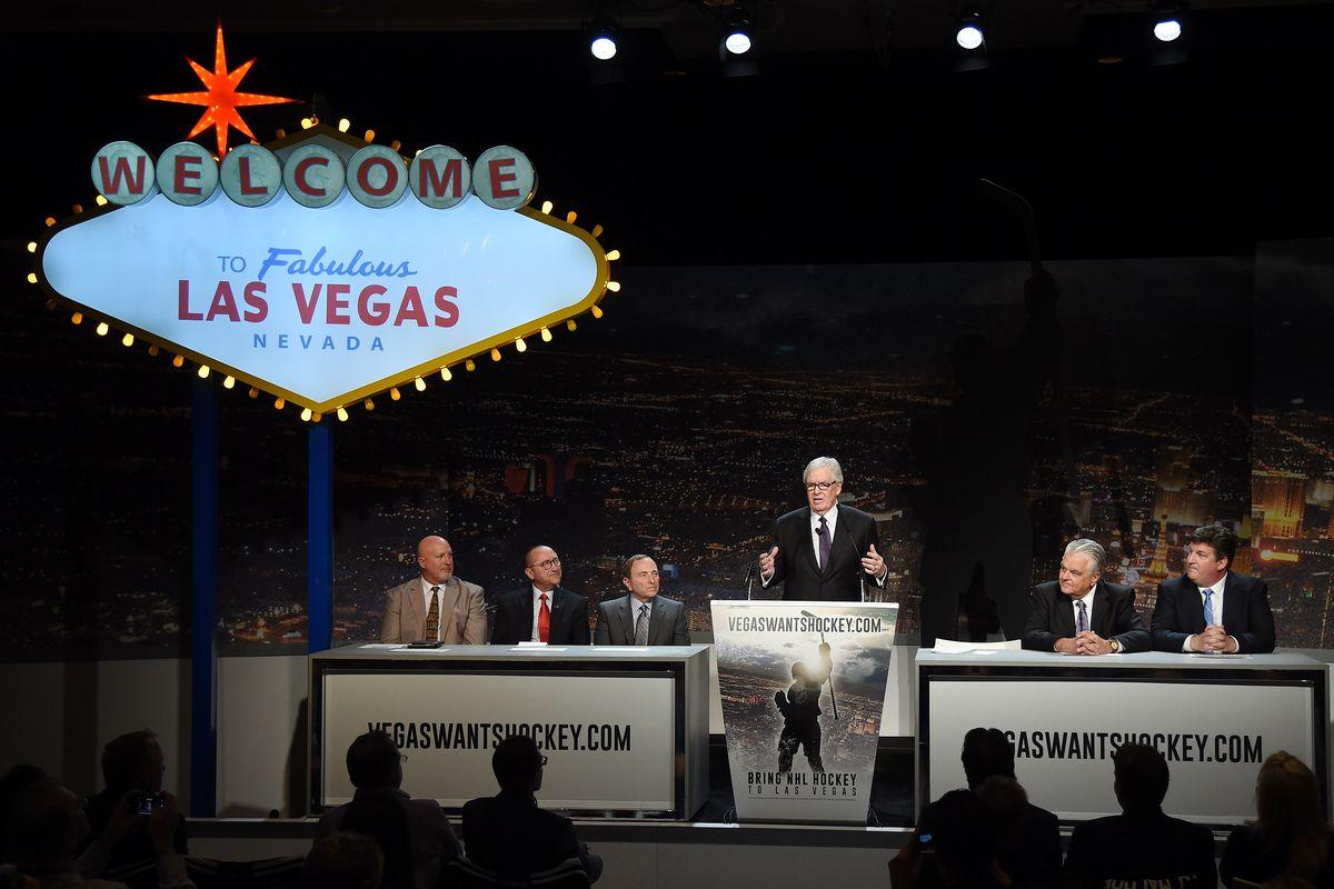 Hockey Vision Las Vegas News Conference To Announce NHL Season Ticket Drive