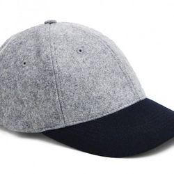 "<strong>GANT by Michael Bastian</strong> Contrast Brim Baseball Cap in Dark Grey, <a href=""http://us.gant.com/the-baseball-cap-dark-grey-melange"">$65</a>"
