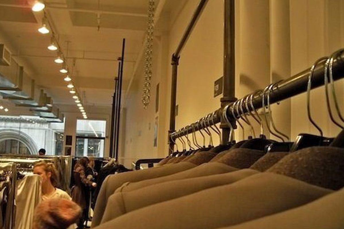 Snappy jackets at last month's sale