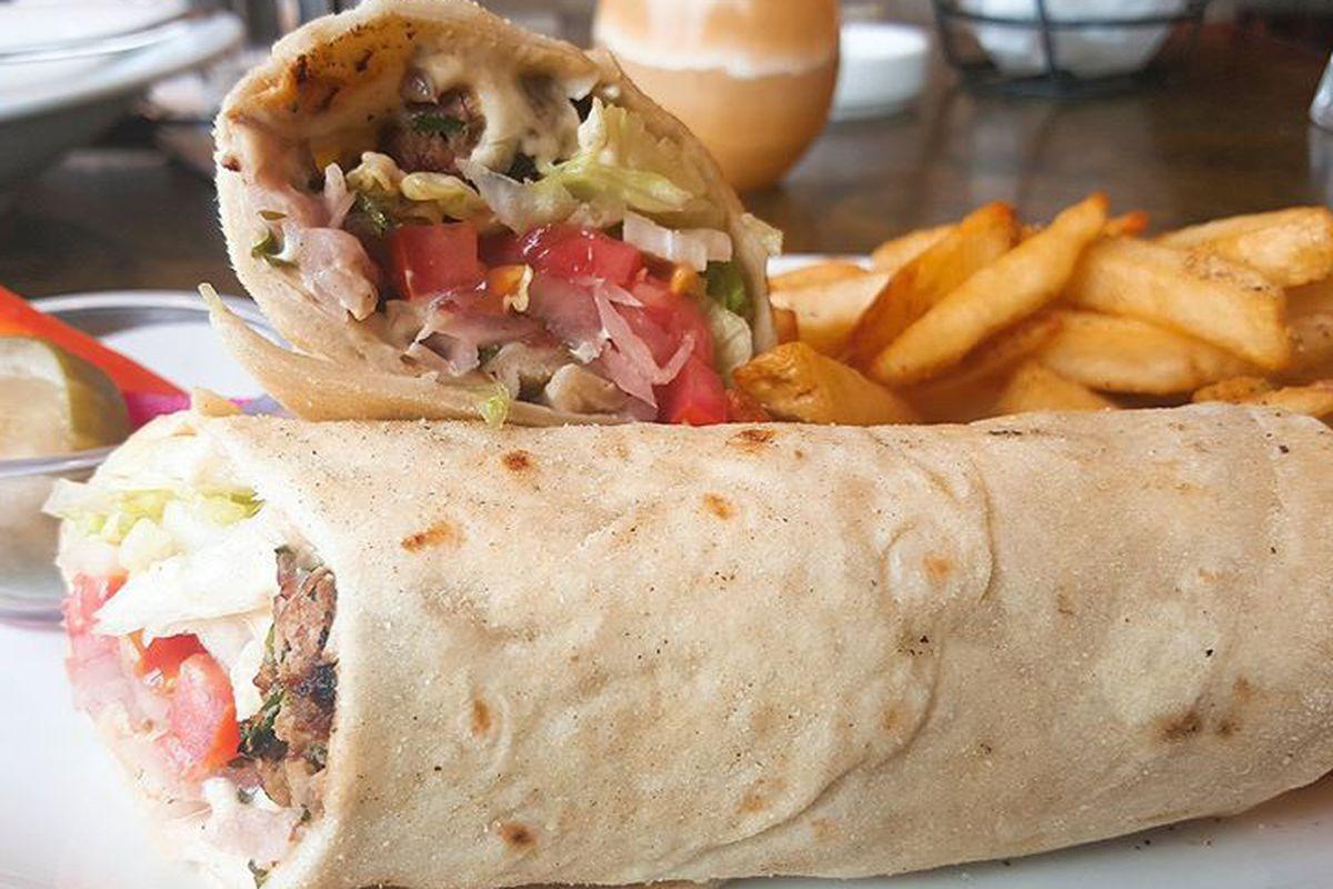 Shawarma from Lebanese Taverna