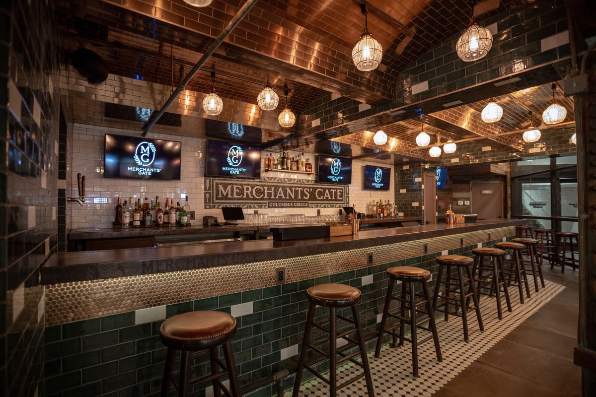 Merchants Gate At Turnstyle Opens In Columbus Circle S