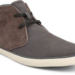 """<strong>Camper</strong> Romeo Boot in Grey, <a href=""""http://www.camper.com/en_US/men/shoes/romeo/camper-romeo-36640-001"""">$120</a>"""