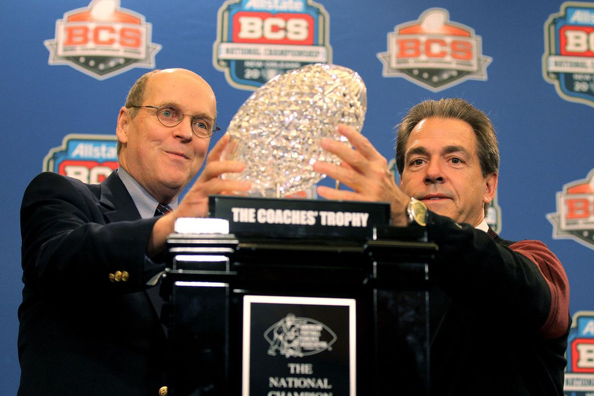 Nick Saban might be giving this one back.