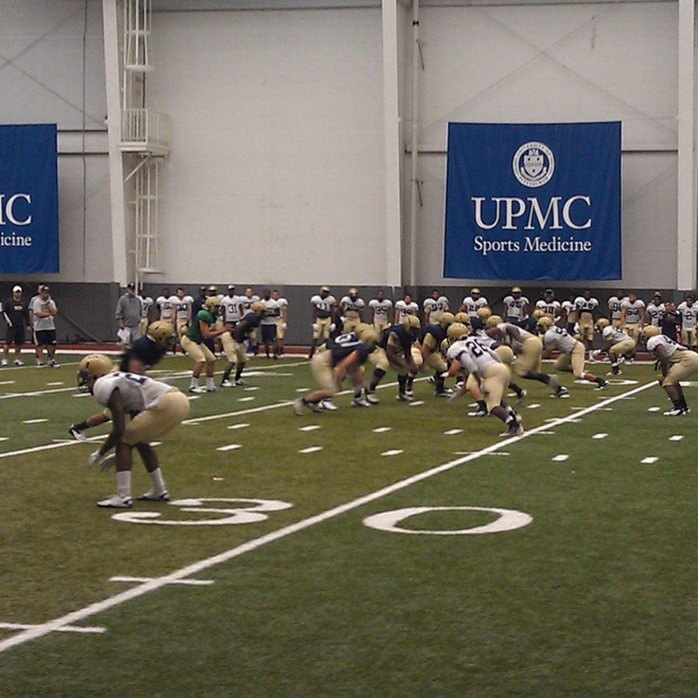 2012 Pitt Football Training Camp Qb Progression And Other Camp