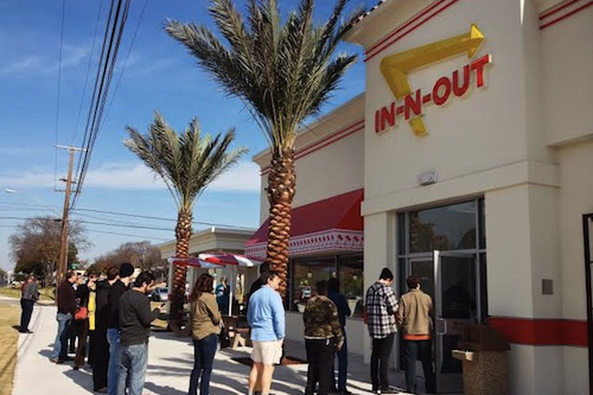 In-N-Out opens in Austin.