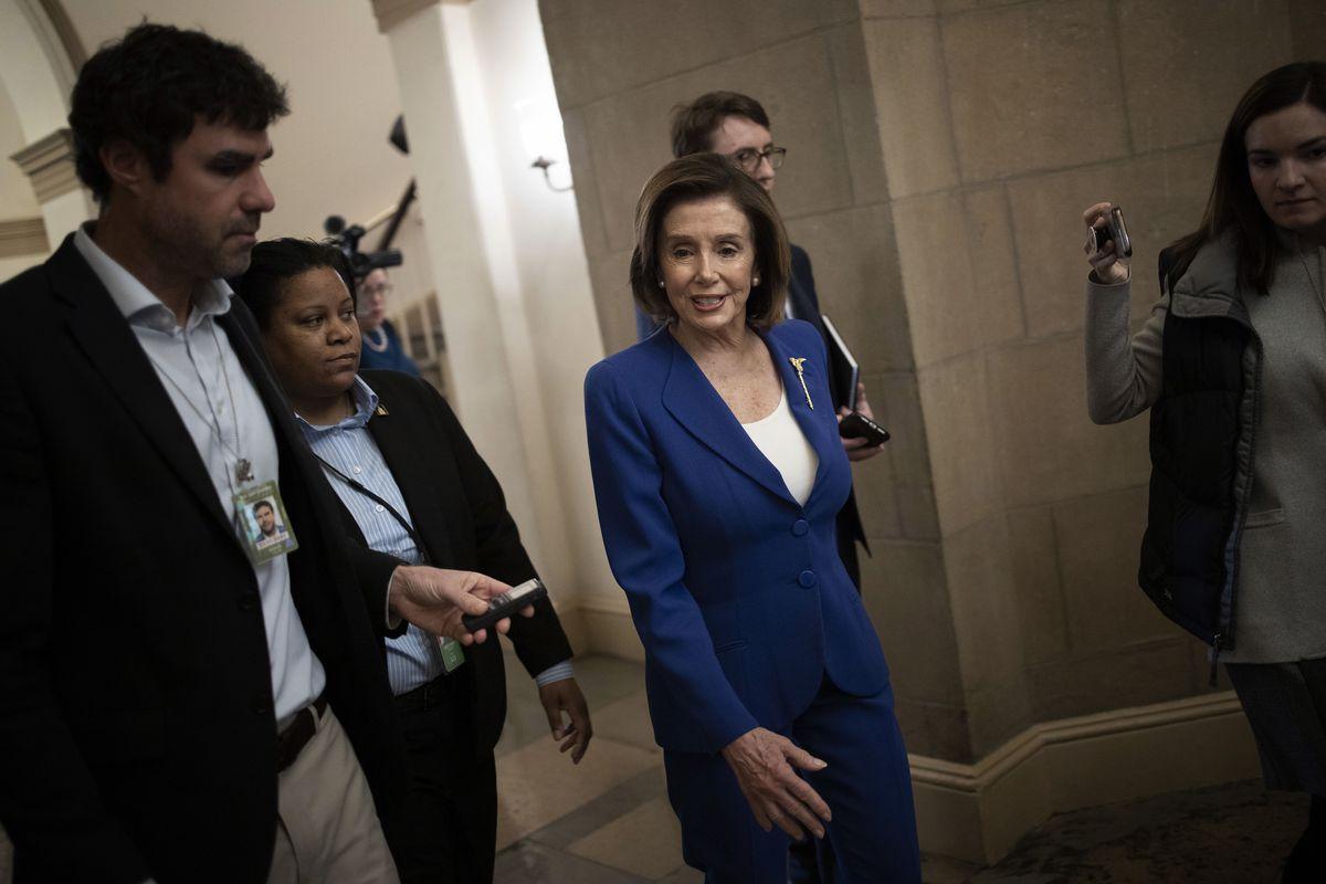 House Votes On Stimulus Package To Counter Coronavirus Economic Impacts