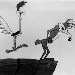 """Road Runner and Wile E. Coyote are part of the Warner Bros. stable of cartoon characters. """"The Bugs Bunny/Road Runner Movie"""" is on DVD."""