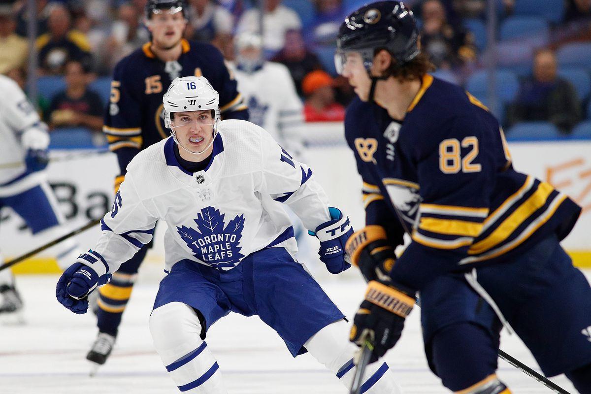 NHL: Preseason-Toronto Maple Leafs at Buffalo Sabres