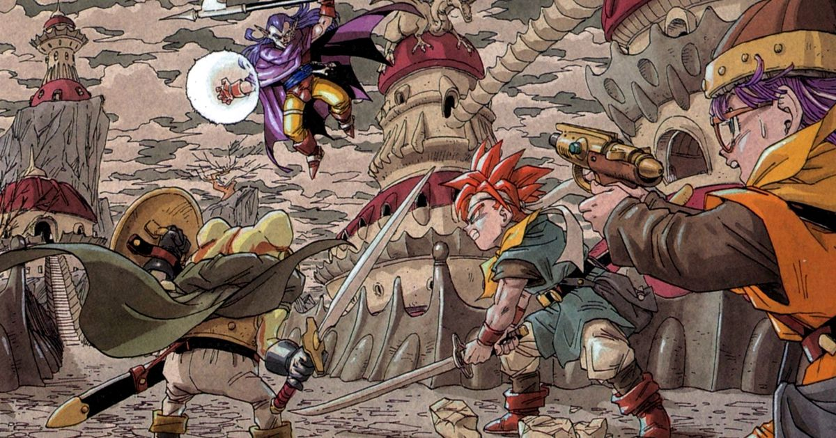 Chrono Trigger's PC port is getting the original SNES graphics back