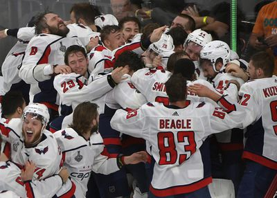 Washington Capitals and the Vegas Golden Knights in game 5 of the Stanley Cup