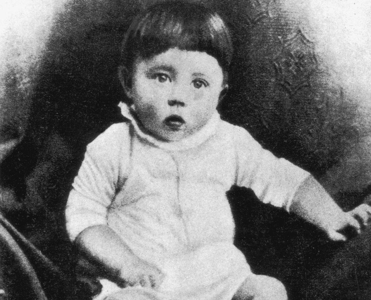 The actual Baby Hitler