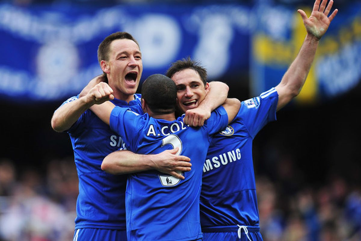 Manchester United may not have to encounter the trio of John Terry, Frank Lampard, and Ashley Cole on Sunday.