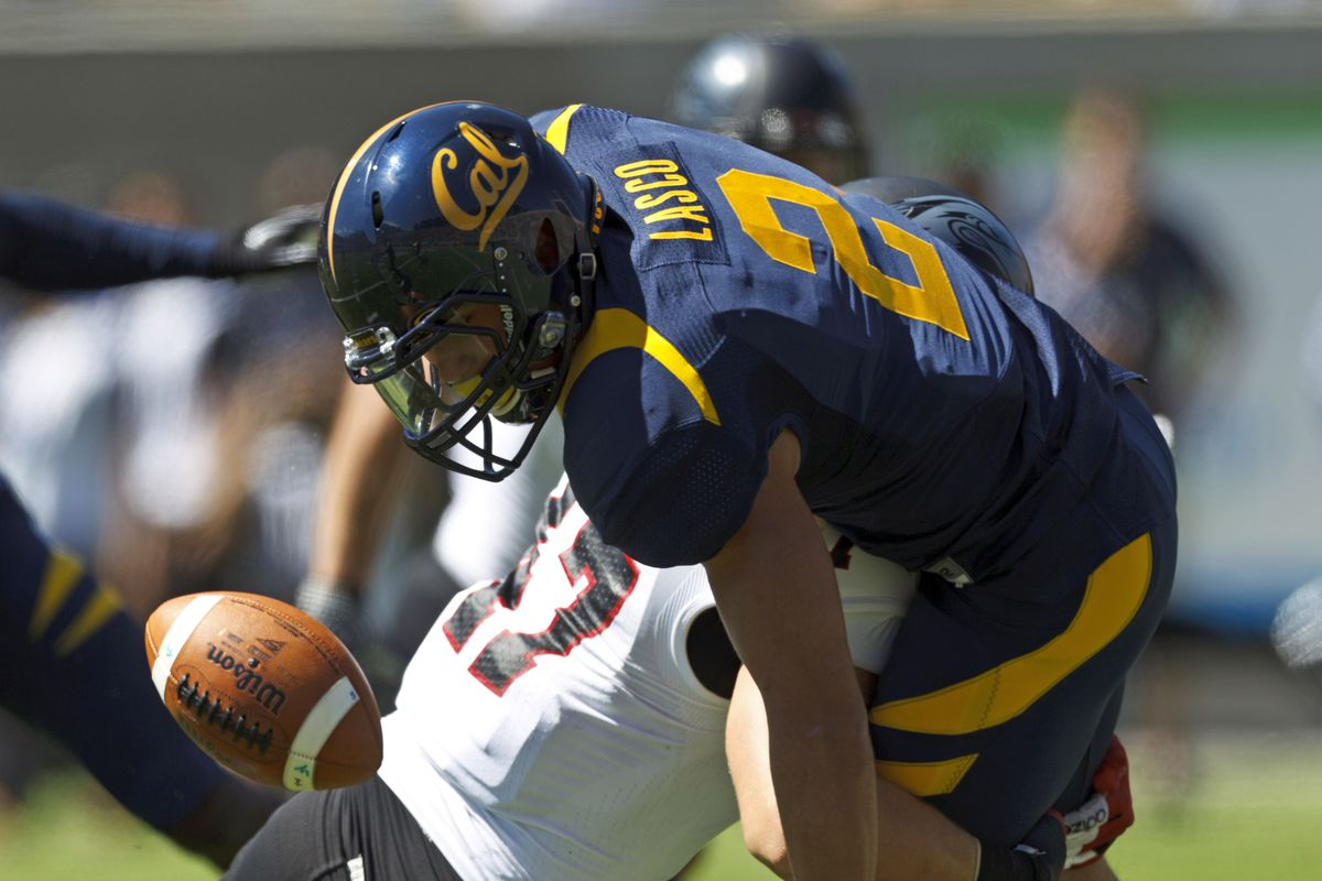 Daniel Lasco fumbled the opening kickoff, but the Bears were fortunately able to recover.  It was a microcosm, of sorts, of Cal's day on Saturday against Southern Utah: disturbing mistakes but a <strike>happy</strike> relieved ending