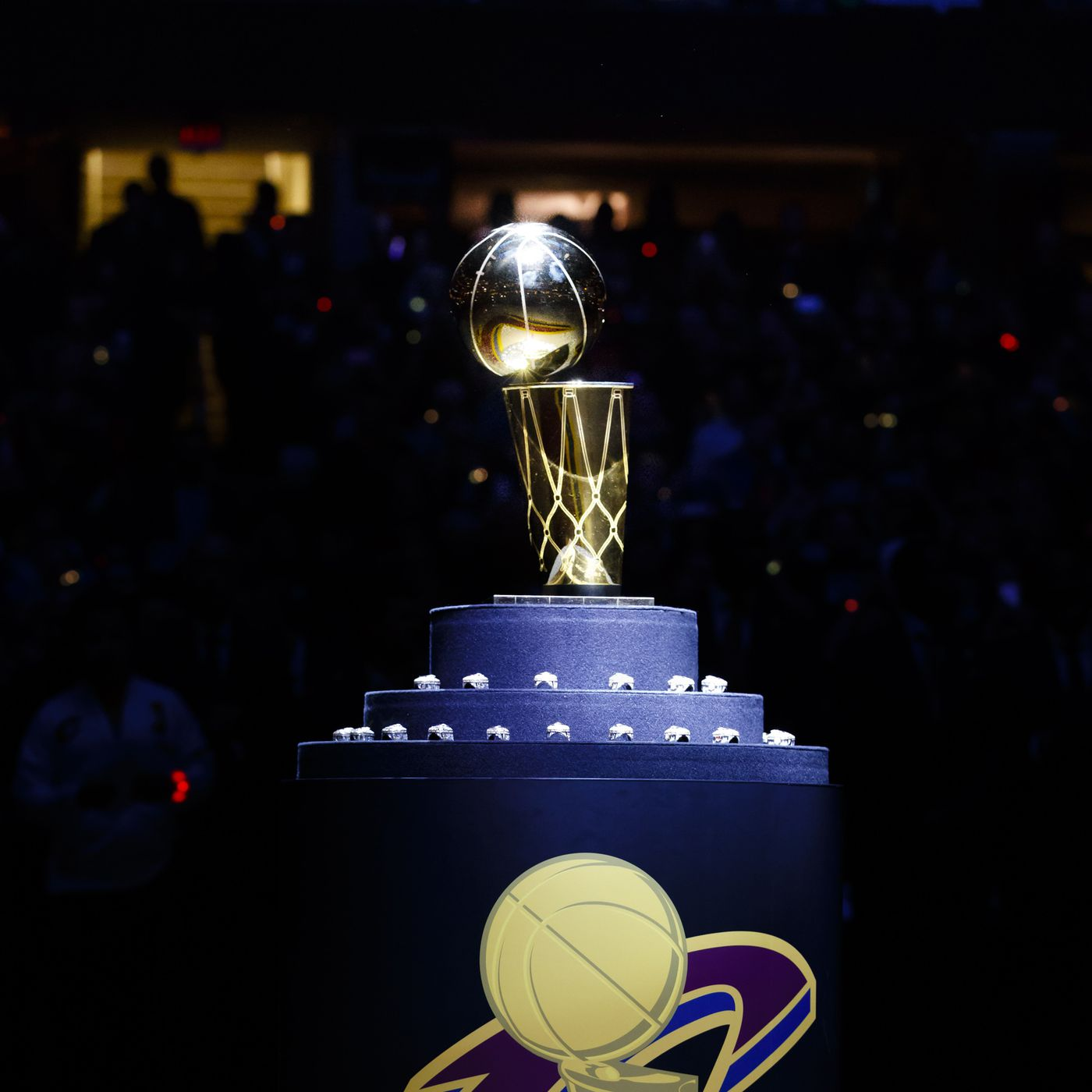 5df4a7b3d53 Cleveland Cavaliers bring back championship puzzle as a motivator ...