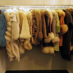 Furs on furs on furs (Don't tell West Hollywood).