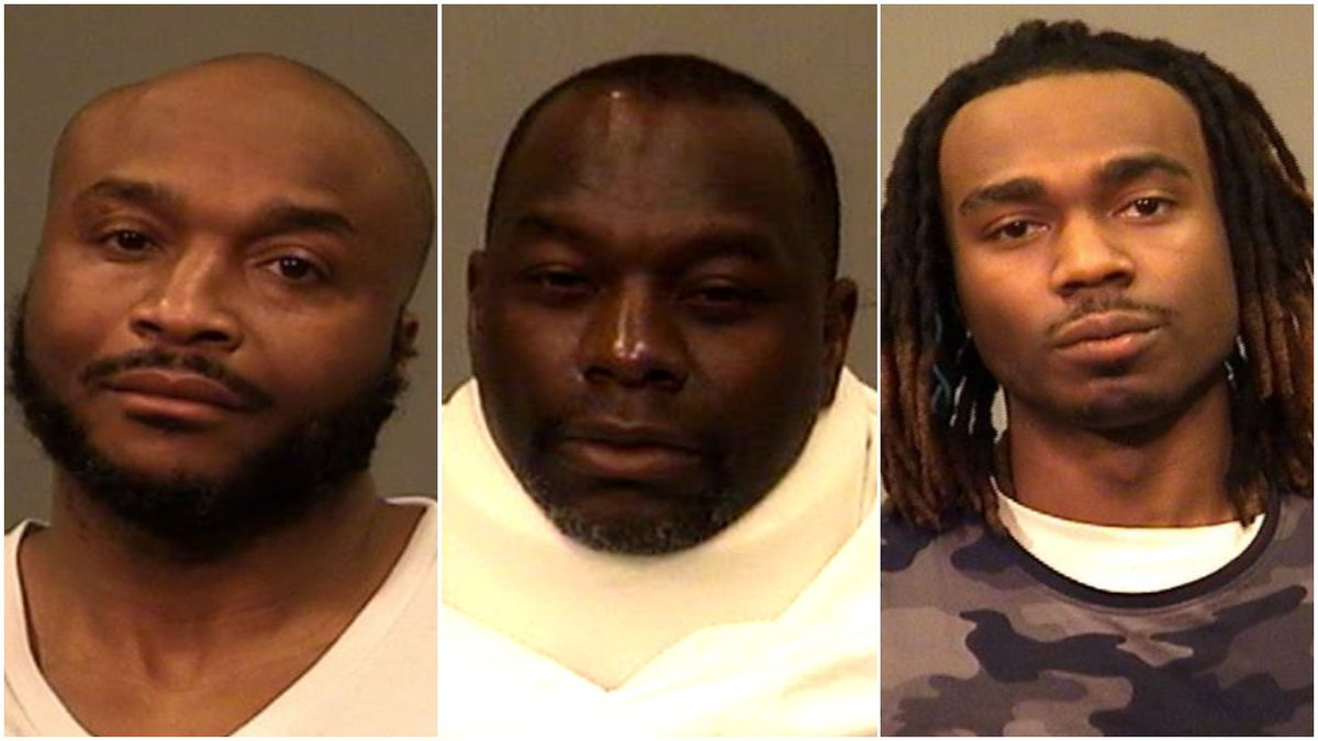 Three men are charged with robbing a Verizon store at gunpoint