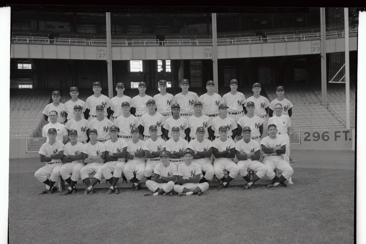 Portrait of New York Yankees Nineteen Fifty Five