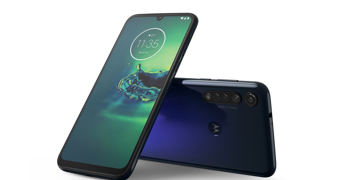 Motorola's Moto G8 Plus announced with three cameras and a big battery