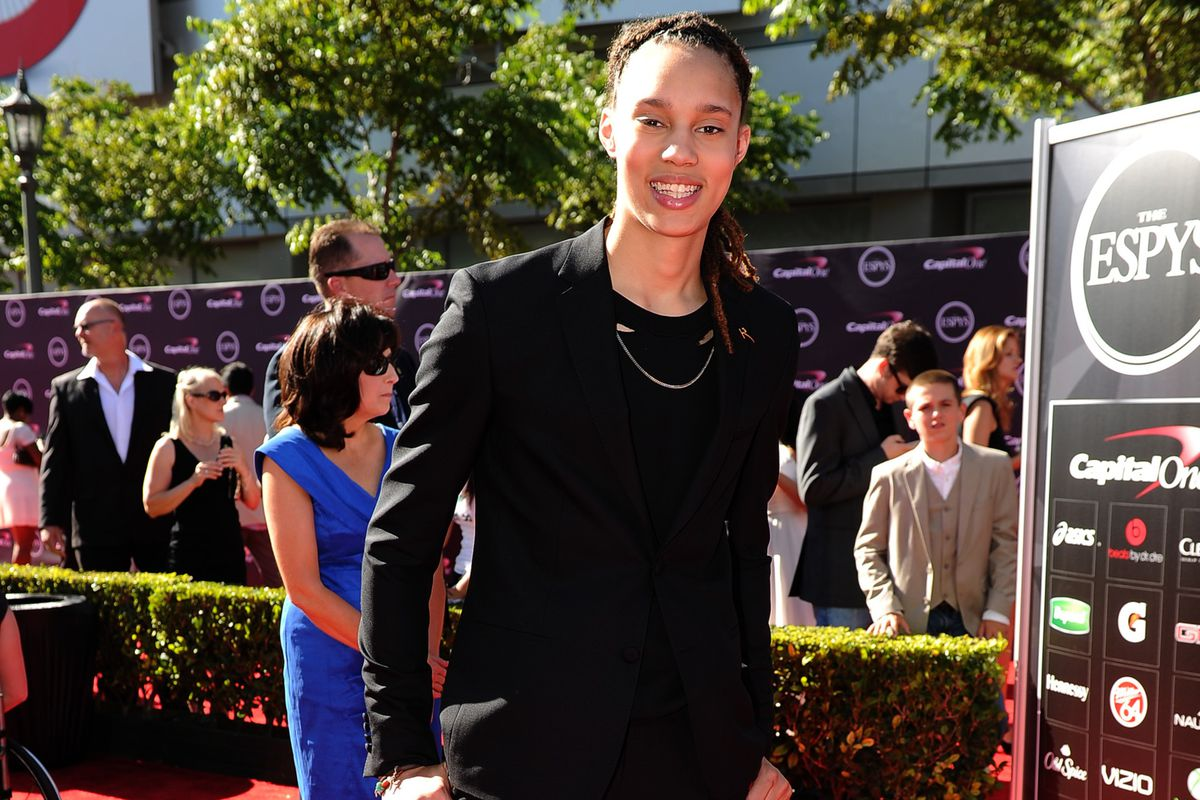 Phoenix Mercury center Brittney Griner has the WNBA's most popular selling jersey.