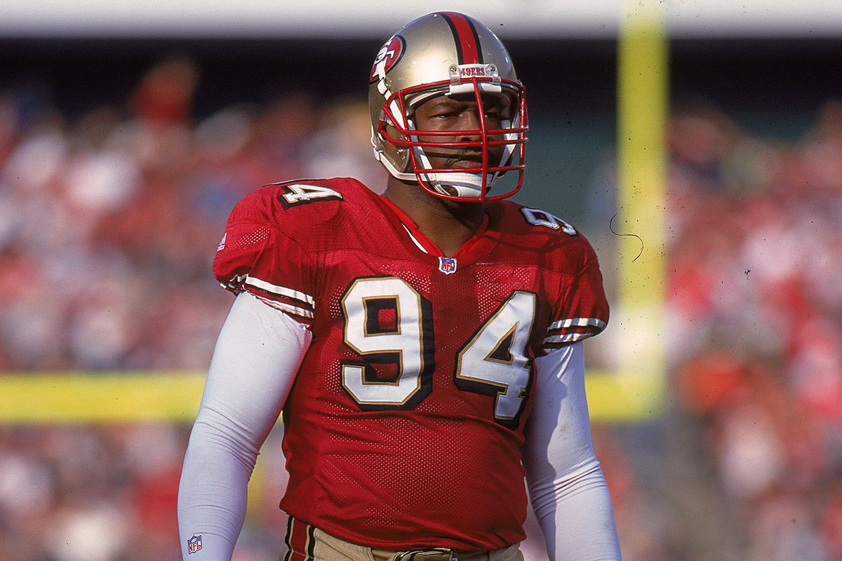 premium selection 53658 9dd3a Golden Nuggets: Charles Haley finally makes it into Hall of ...
