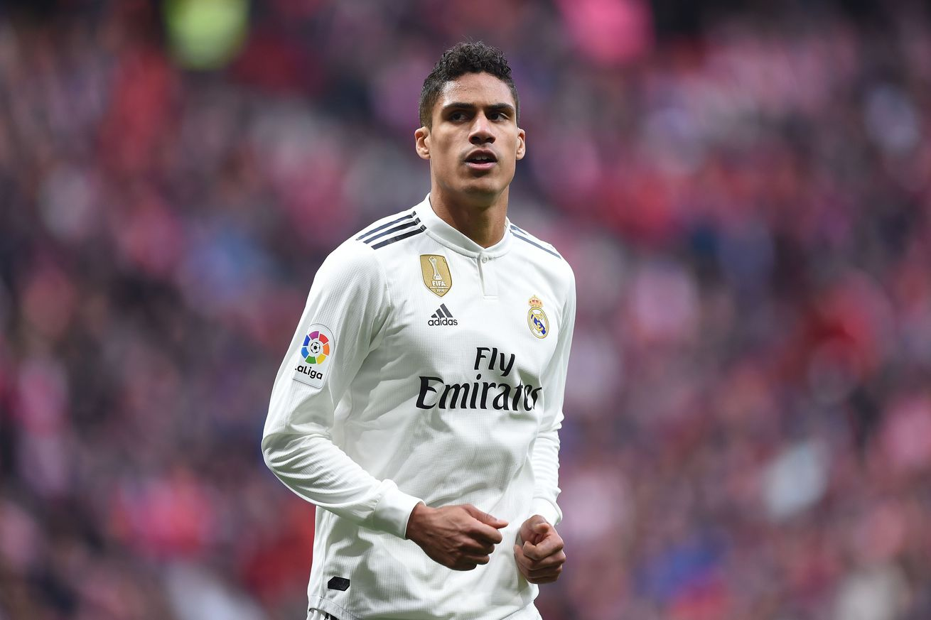 Varane, Mariano miss training session, questionable for match against Girona