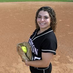 Ms. Softball Chloe Borges poses for photos at Riverton High School in Riverton on Tuesday, June 8, 2021.