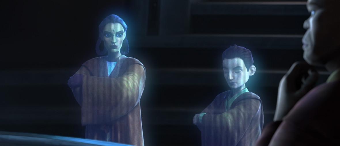 Depa Billaba in Clone Wars season 7