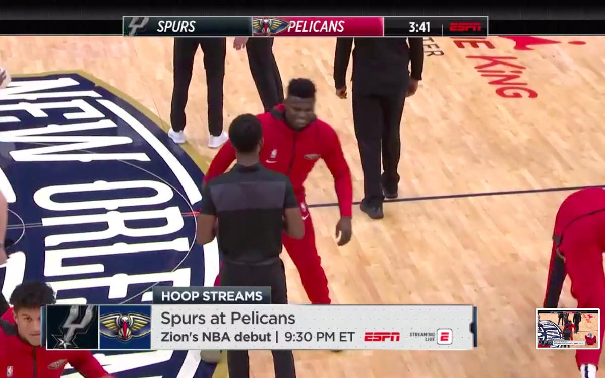 Zion Williamson Updates From Nba Debut Vs Spurs Sbnation Com