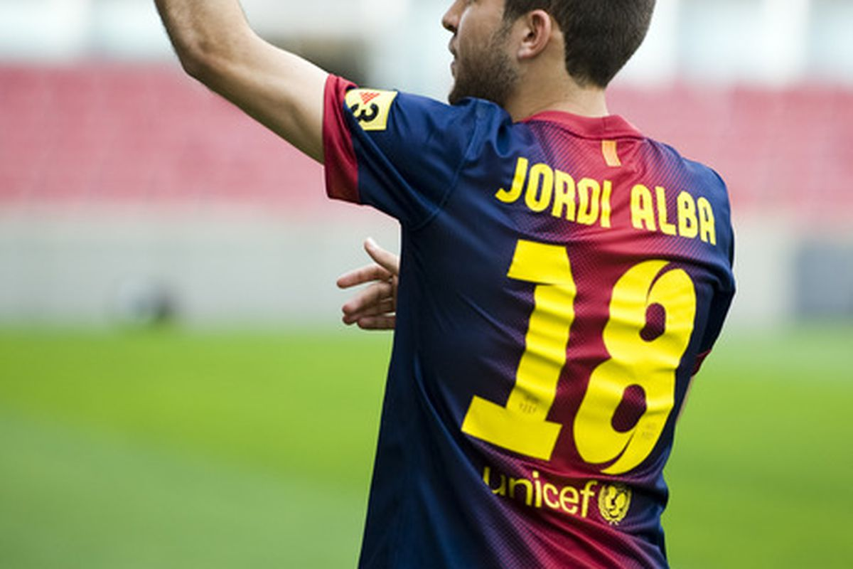 Will Jordi get some playing time today?