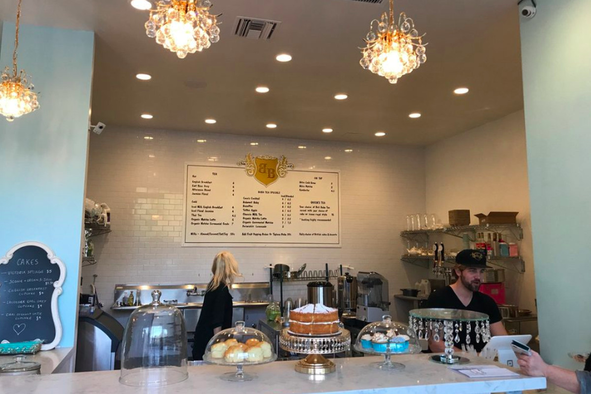 Brit Boba Serves Tea Drinks and British Desserts in Studio