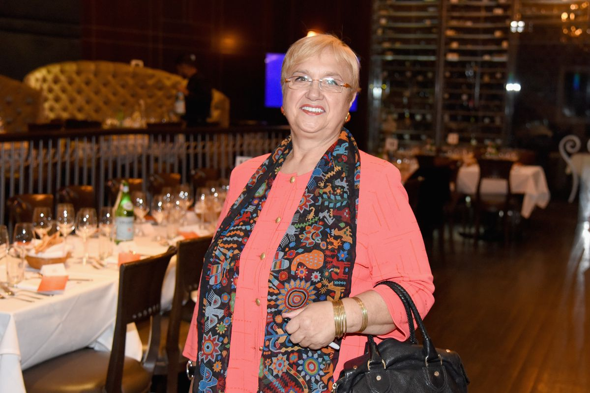 LG's A Celebration Of Felidia Hosted By Lidia Bastianich With Fortunato Nicotra And Carmen Quagliata Presented By Wine Spectator Part Of The Bank Of America Dinner Series