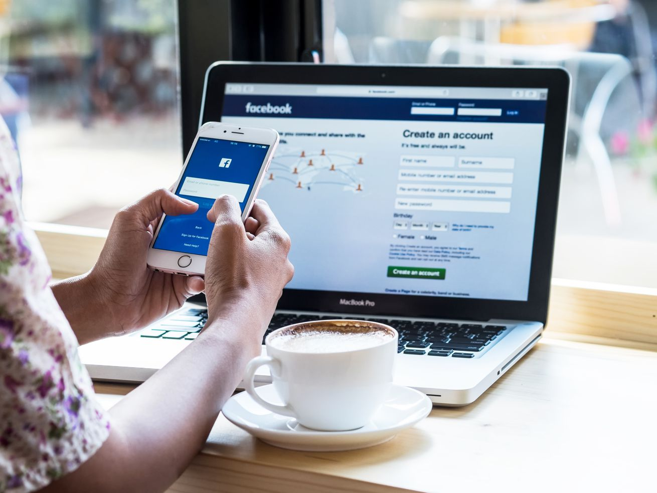 Facebook Is Opening Cafes With