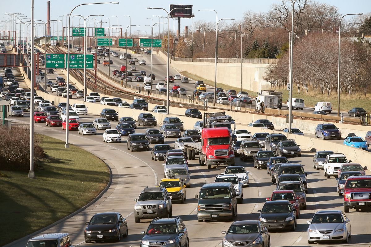Travelers Embark On Holiday Travel Day Before Thanksgiving