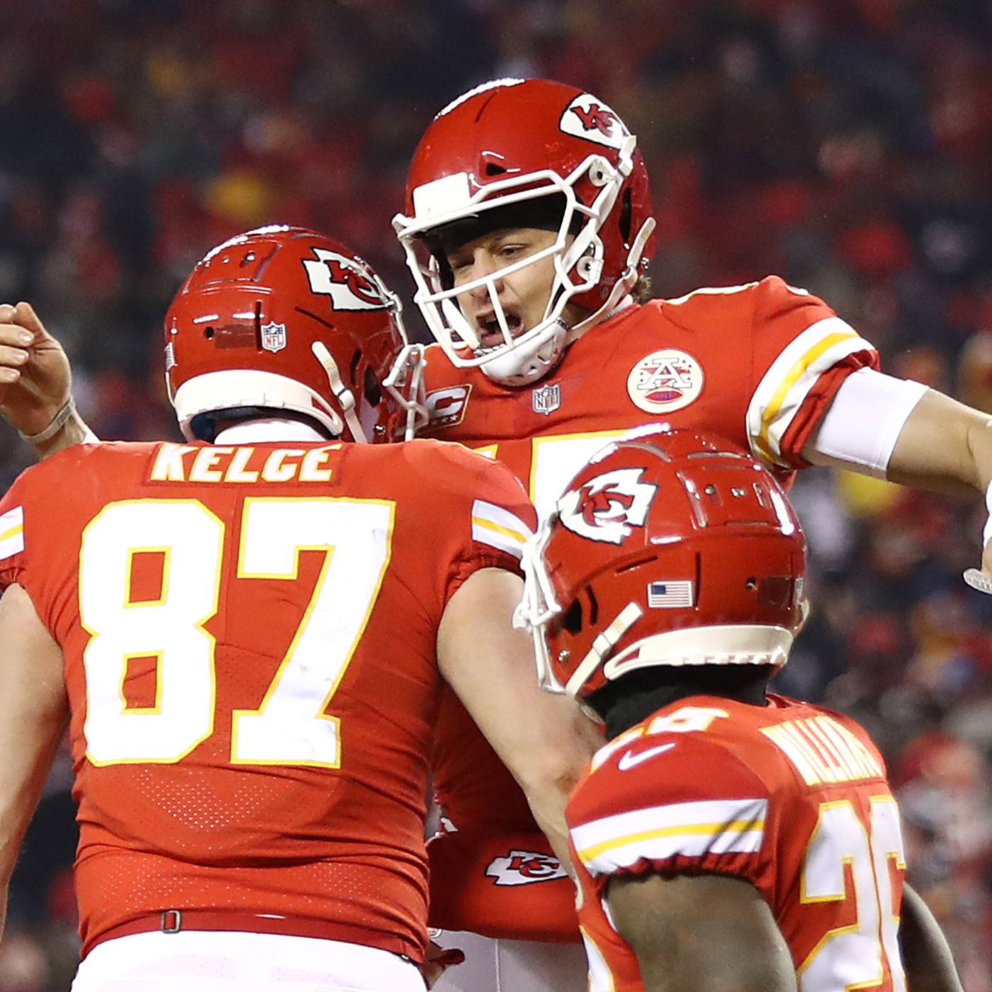 wholesale dealer 4d787 dcb1f Patrick Mahomes to play in Pro Bowl, Travis Kelce will not ...