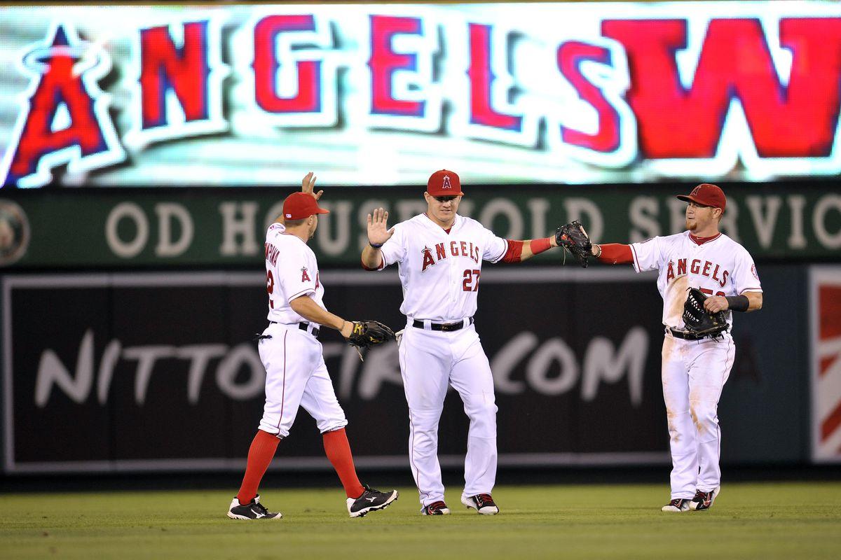 Mlb Standings 2014 Angels Finish Season With Baseballs