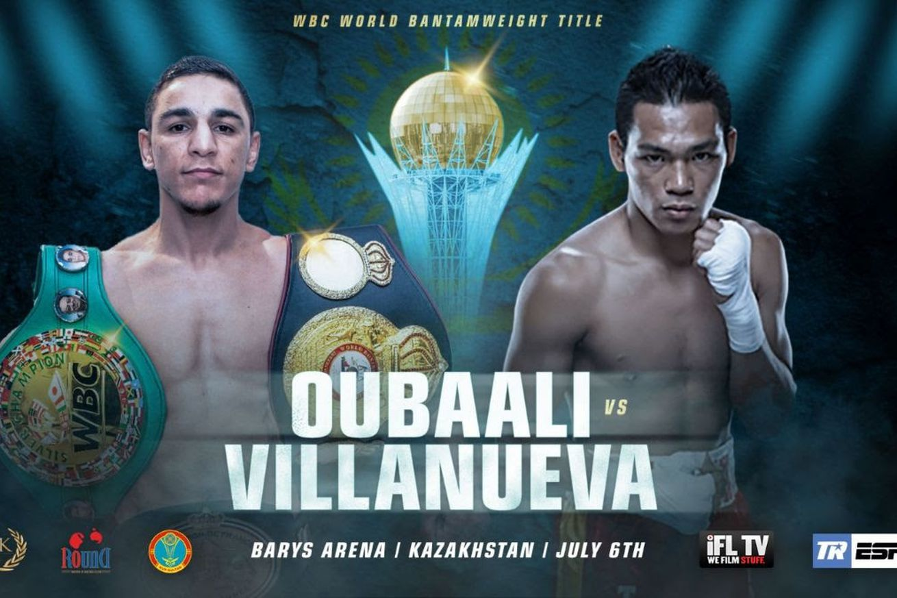 unnamed.0 - Oubaali to defend title against Villanueva on July 6