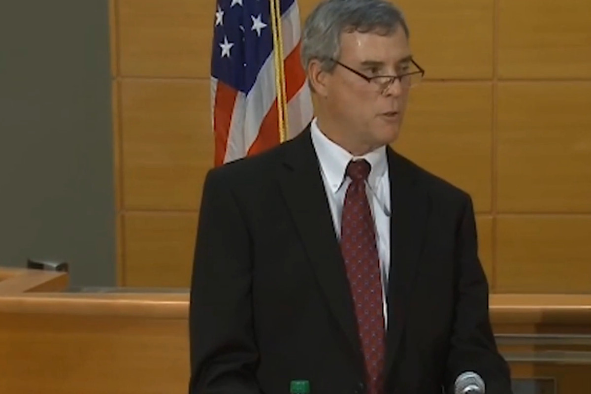 Even the framing of Robert McCulloch suggested he was being unnecessarily hectoring.